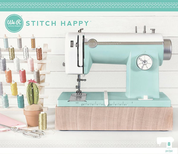 We R Memory Keepers - Stitch Happy - Multi Media Sewing Machine - Mint