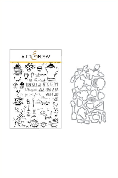 Altenew - Tea Time Stamp & Die Bundle
