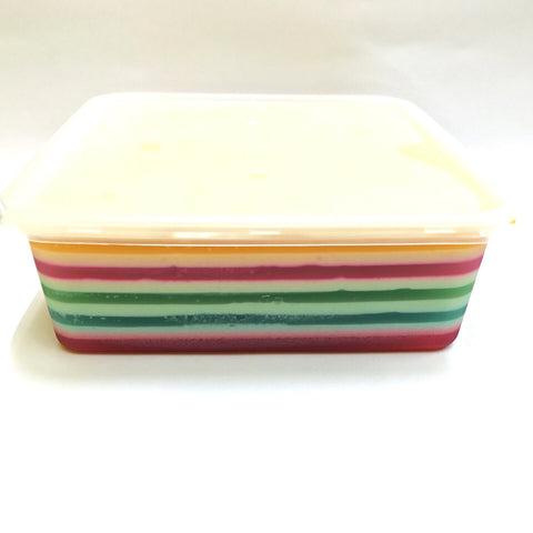 Rainbow Agar Agar Jelly