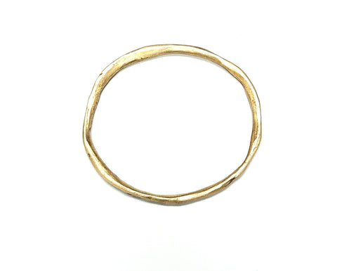Pure Bronze Metal Clay Bangle