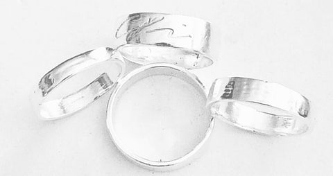 Silver Metal Clay Bands