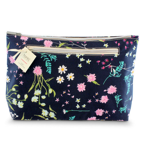 Large Cosmetic Bag Whimsy Ink