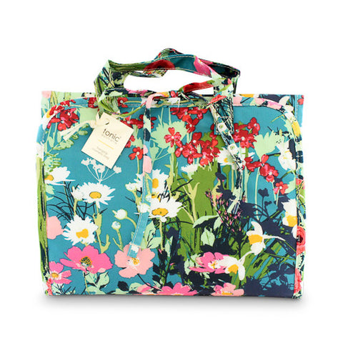 Hanging Cosmetic Bag Dusk Meadow