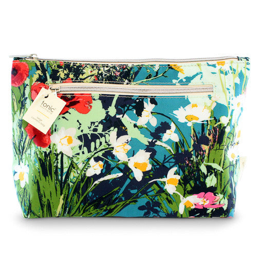 Large Cosmetic Bag Dusk Meadow