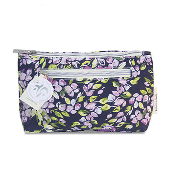 Small Cosmetic Bag Purple Mini Bell