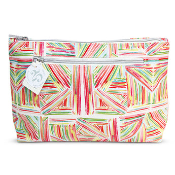 Large Cosmetic Bag Pink Sticks