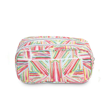 Medium Make-up Bag Pink Sticks