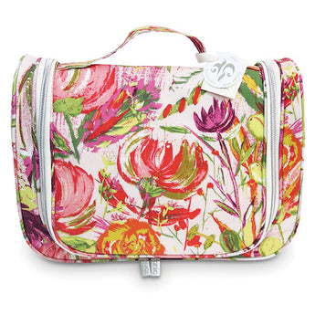 Essential Hanging Cosmetic Bag Pink Bell