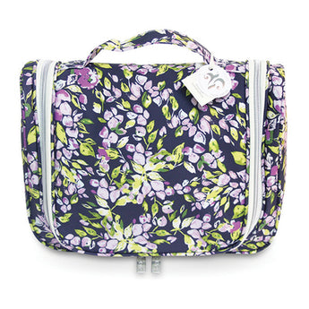 Essential Hanging Cosmetic Bag Purple Mini Bell