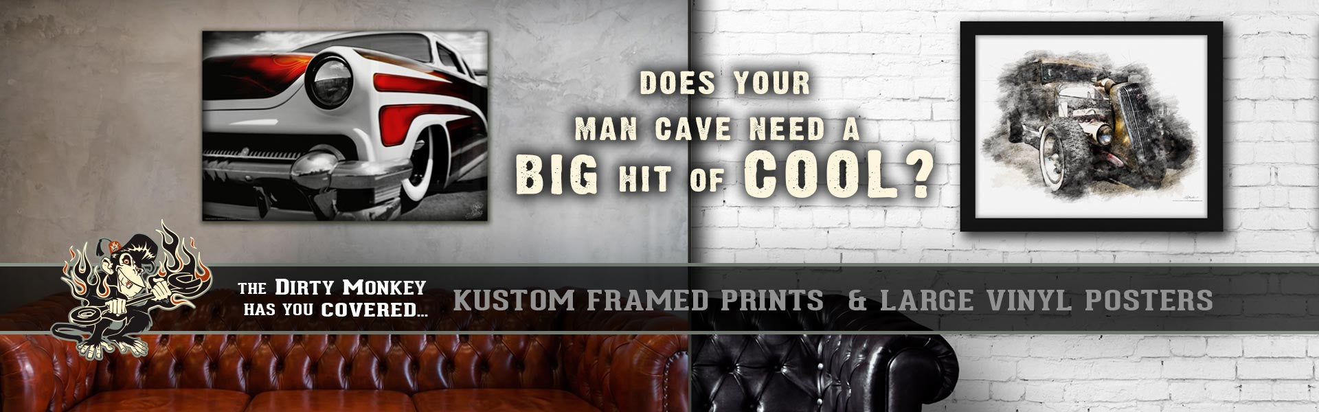 Garage Art & Man Cave Decor