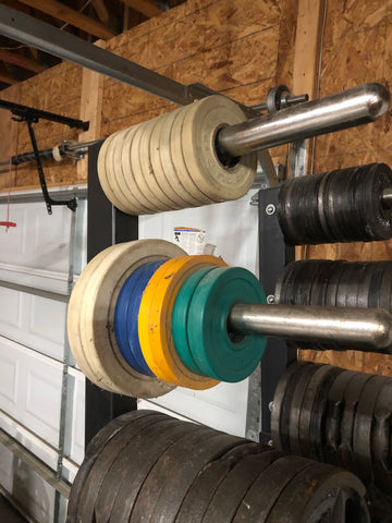 [STRONGMAN GARAGE SALE] Bumper Change Plates (KG set)