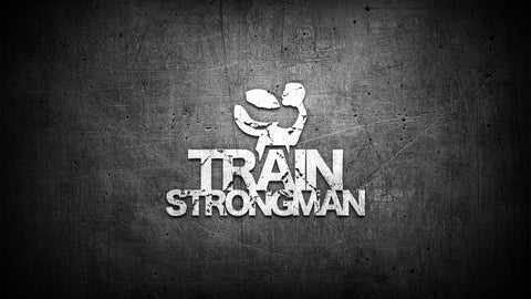 Fabric Train Strongman Banner