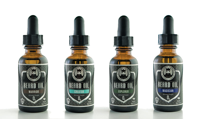Legendary Man Champion Beard Oil Sample Pack