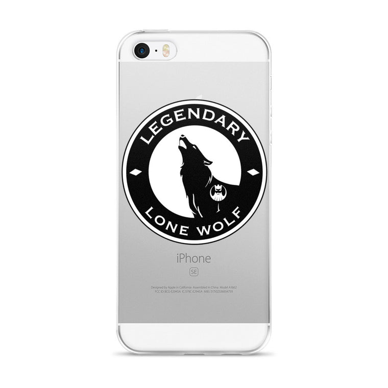 Legendary Man Lone Wolf iPhone 5/5s/Se, 6/6s, 6/6s Plus Case
