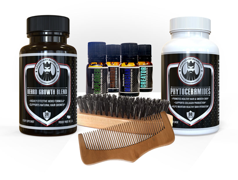 The Ultimate Beard Growth and Grooming Kit