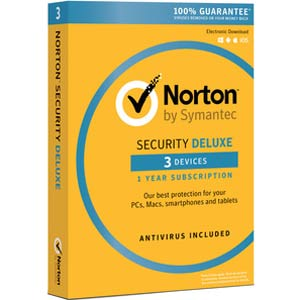 Norton Security Deluxe 2018- 1-Year / 3-Device - North America - BlueJadeServices