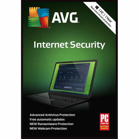 AVG Internet Security 2019- 1-Year / 3-PC - Global -  ( Email Delivery ) - Blue Jade Services