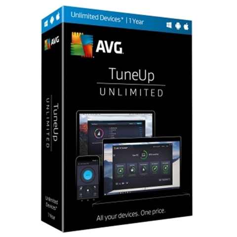 AVG TuneUp 2018 - 1-Year / Unlimited Devices - Global - Blue Jade Services