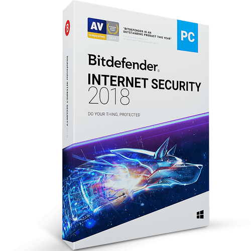 Bitdefender Internet Security 2018- 1-Year / 3-PC - BlueJadeServices - Blue Jade Services