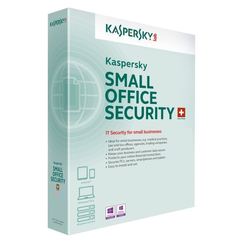 Kaspersky Small Office Security 2019 - 1-Year / 5-User ( Email Delivery ) - Blue Jade Services