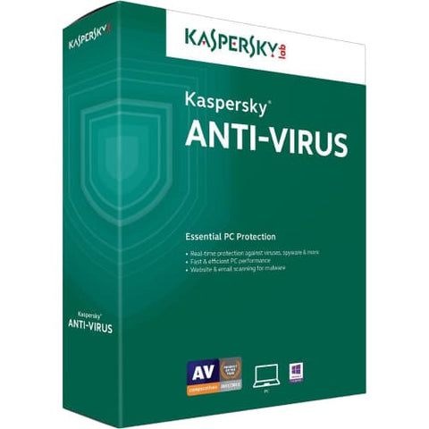 Kaspersky Anti-Virus 2019 - 2-Year / 1-PC -  ( Email Delivery ) - Blue Jade Services