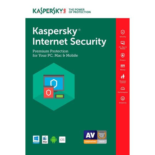 Kaspersky Internet Security 2018 - 1-Year / 5-Device - UK/EU - BlueJadeServices - Blue Jade Services