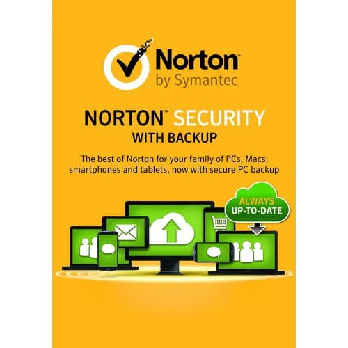 Norton Security Premium with Backup 2019 - 1-Year / 10-Device - North America -  ( Email Delivery ) - Blue Jade Services