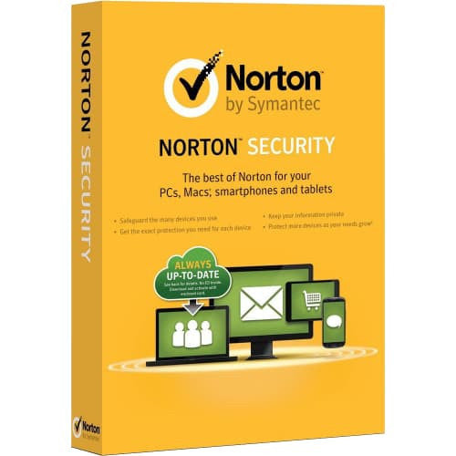Norton Security Standard 2019 - 1-Year / 1-Device - North America -  ( Email Delivery ) - Blue Jade Services