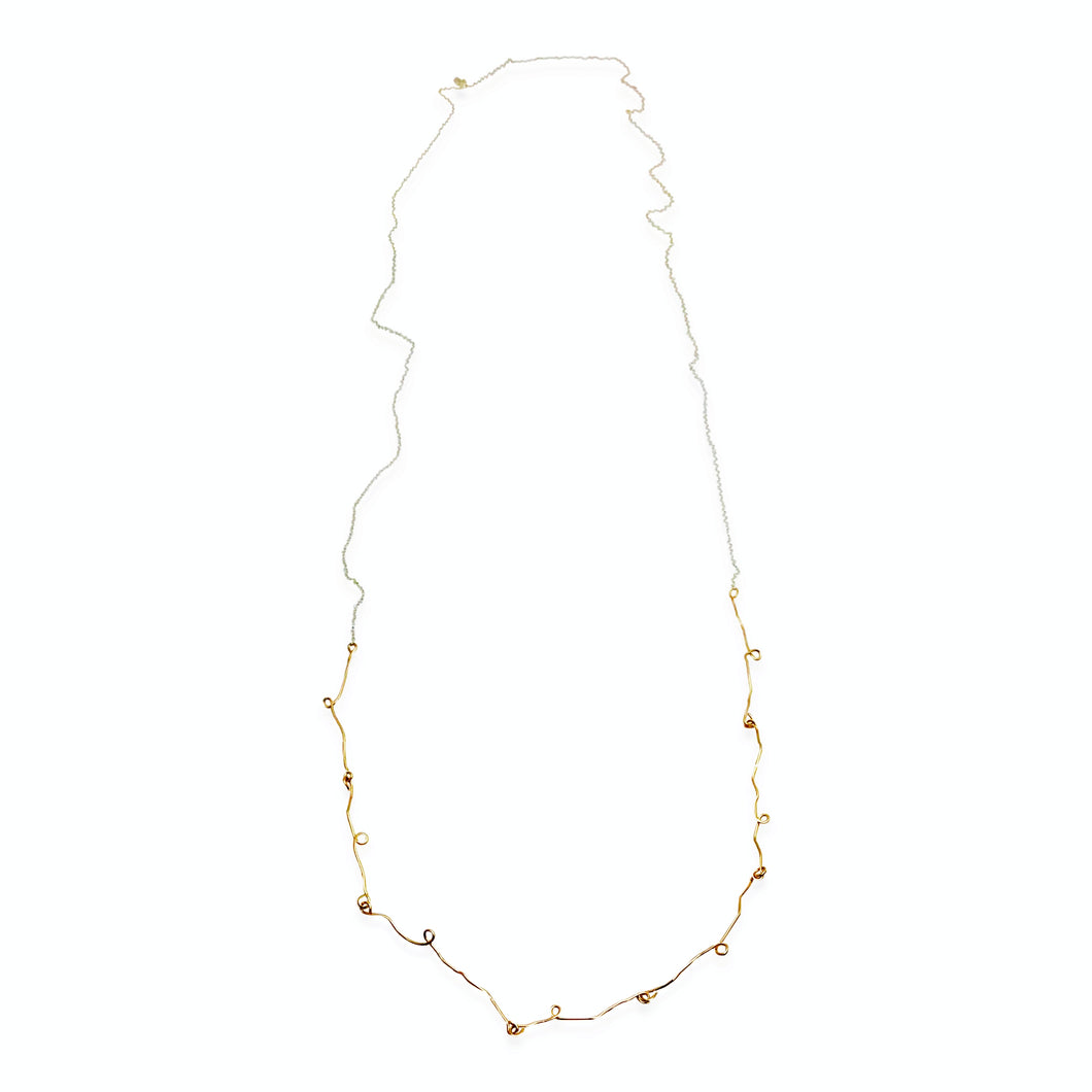 TENDRIL LONG NECKLACE