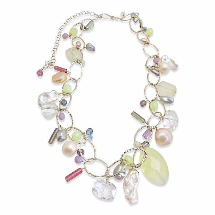 IRIDESCENT LUX ORGANIC NECKLACE