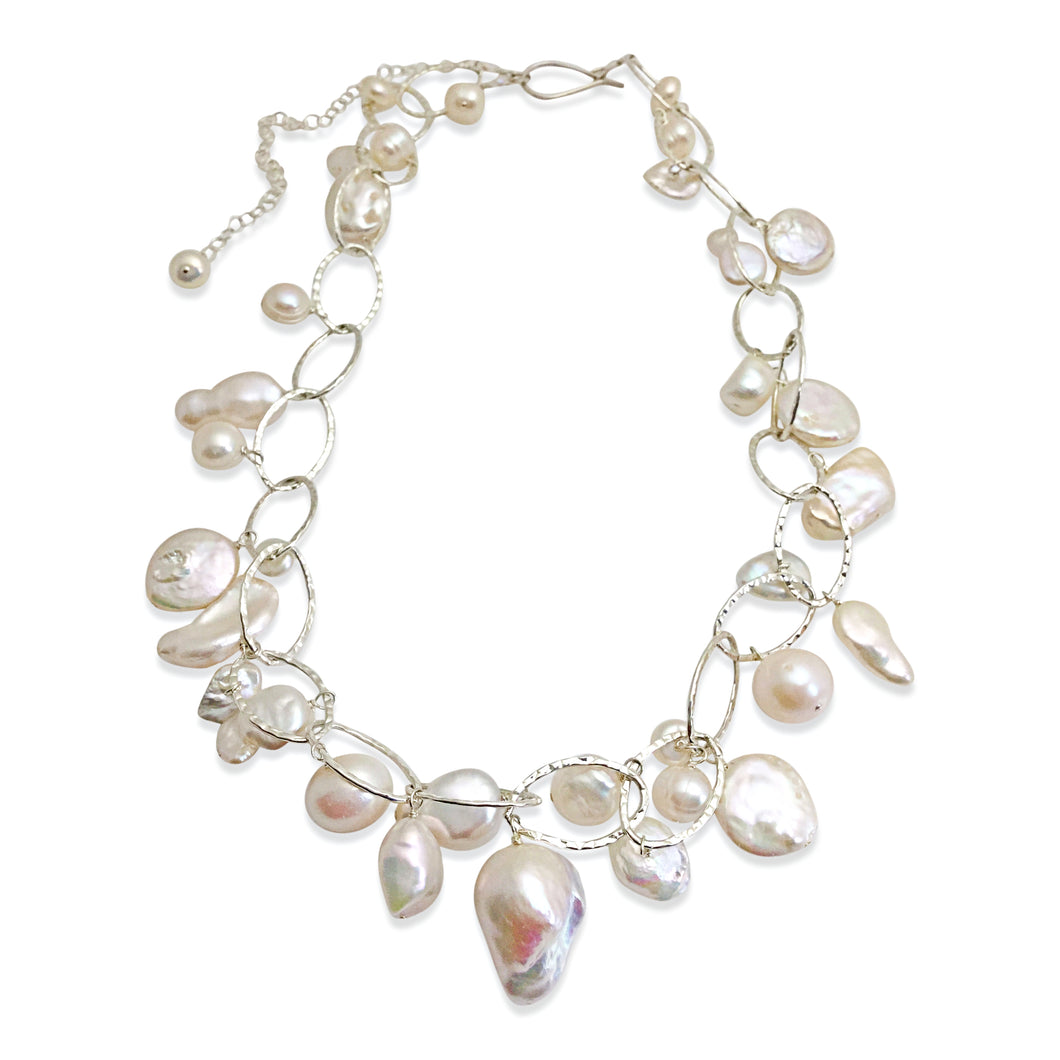IVORY LUX ORGANIC NECKLACE