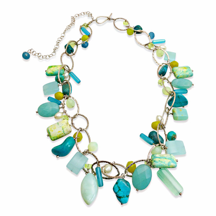 PERFECT AQUA LUX ORGANIC NECKLACE