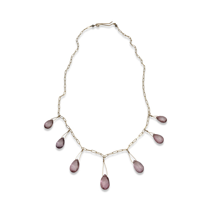 ROSE QUARTZ SEVEN NECKLACE