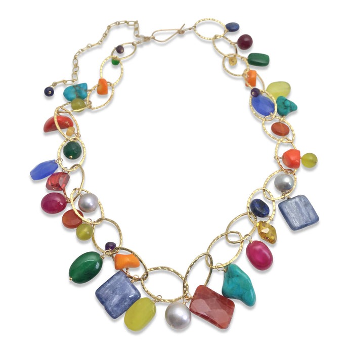 TUTTI FRUITTI LUX ORGANIC NECKLACE