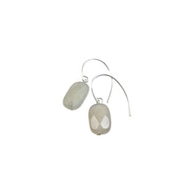 IRIDESCENT SIMPLE DROP EARRINGS