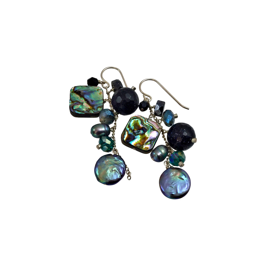 MIDNIGHT CASCADE EARRINGS