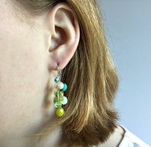 PERFECT AQUA CASCADE EARRINGS