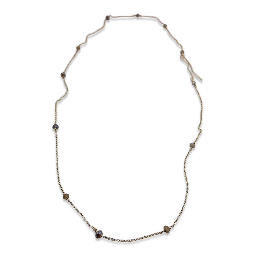 DELICATE NECKLACE - LABRADORITE