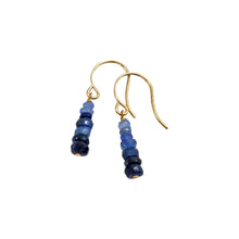 PRECIOUS STACK EARRINGS - BLUE SAPPHIRE