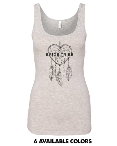 Dream Catcher Bride Tribe - ULTRA Poly/Cotton Tank - 3533