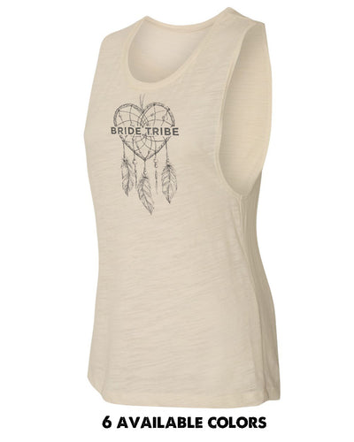 Dream Catcher Bride Tribe Poly/Viscose Muscle Tank - 8803