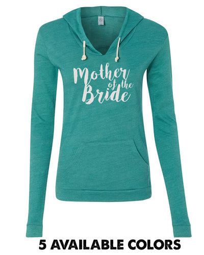 Mother of the Bride - Eco-Jersey Classic Hooded Pullover T-Shirt - 1928