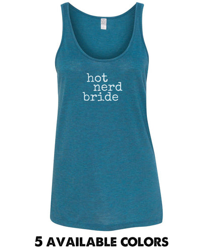Hot Nerd Bride - Mélange Burnout Jersey Airy Tank - 2833