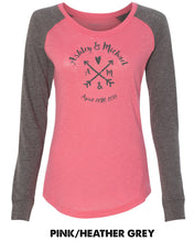 Craft Style - Custom Names - Preppy Patch Slub Long Sleeve T-Shirt - T66