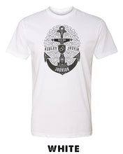 Stamped Anchor - Custom Names - Unisex TRIBLEND Short Sleeve T