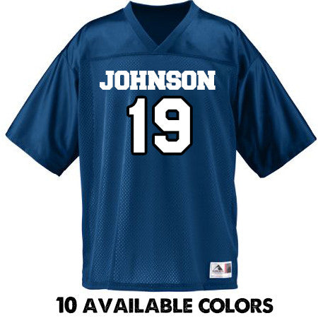 Custom Name & Date - BOY'S YOUTH SIZE - Replica Stadium Jersey - 258