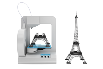 3D Printing Eiffel Tower