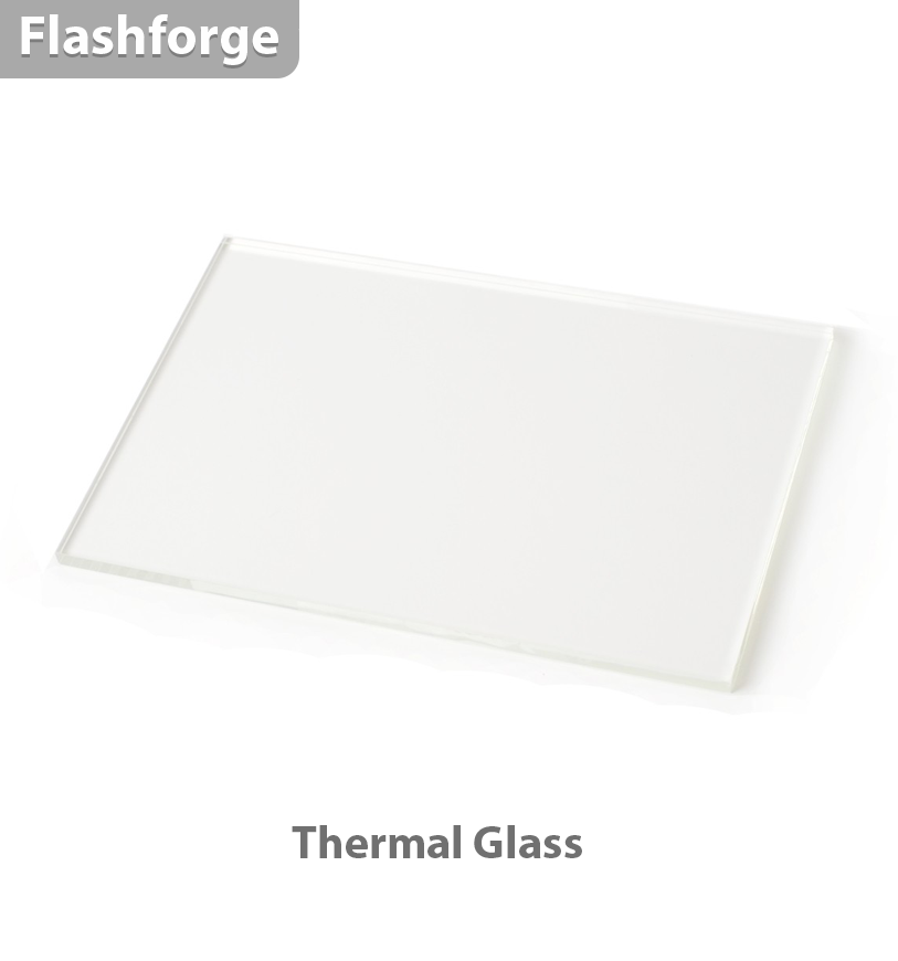 FlashForge Thermal Glass