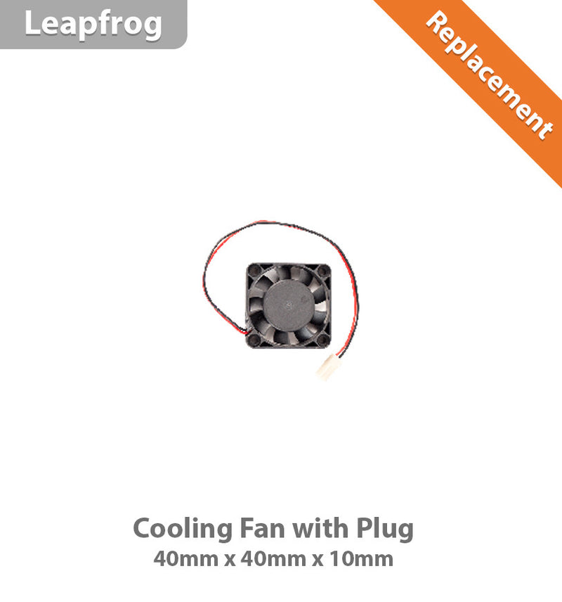 Leapfrog Fans 40x40x10 With Plug