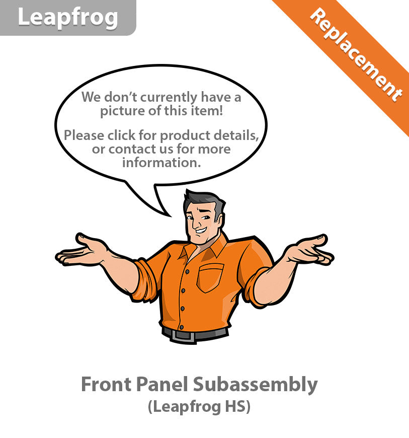 Leapfrog HS Front Panel Subassembly